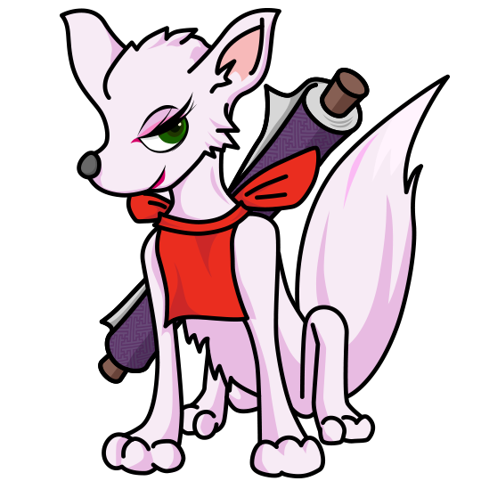 白狐・麗(れい)